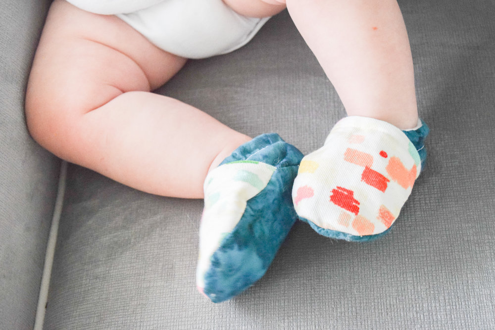 Design Your Own Baby Shoes -- Turquoise Baby Shoes, Colorful Baby Shoes