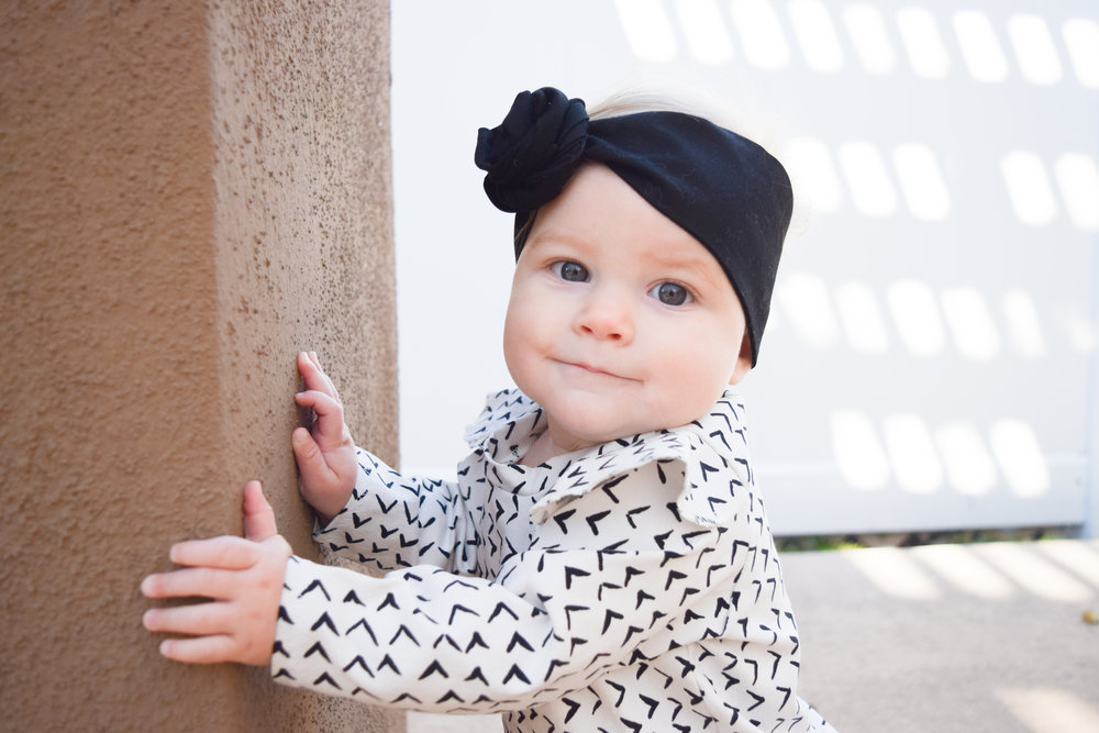 BABY FASHION | Black + White Holiday Kids Dress