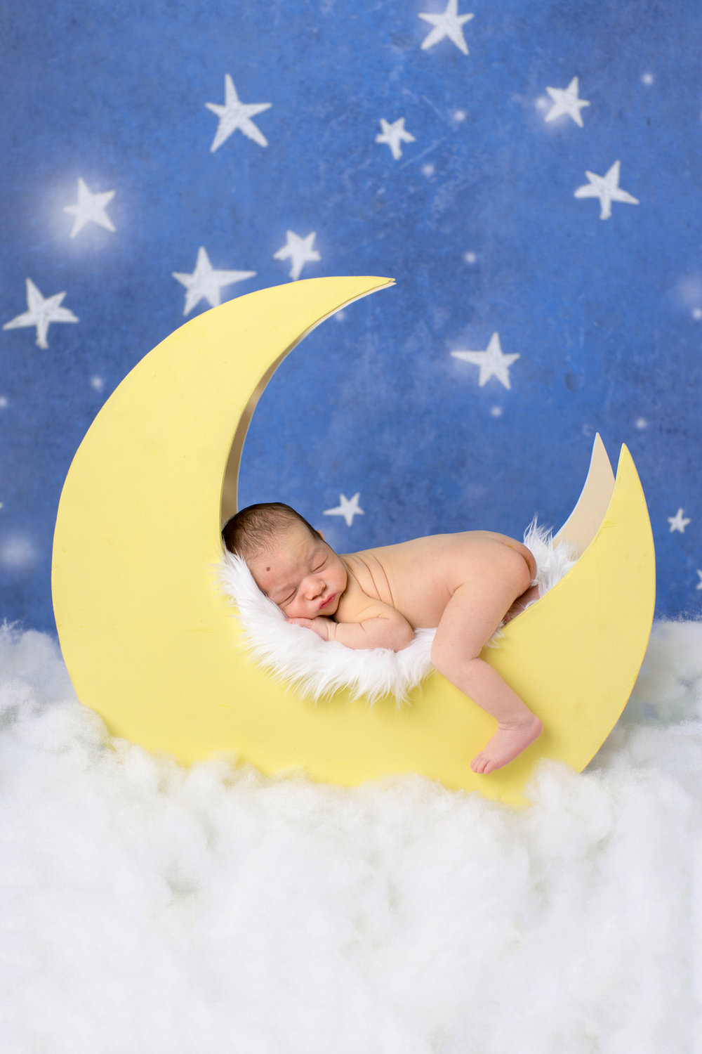 NEWBORN PHOTOGRPAHY | Solar System Themed Nursery, Colorful Newborn Photos