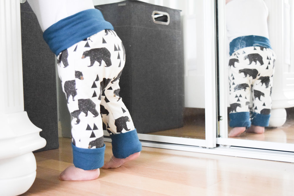 Baby Bear Leggings - Grow With Me Baby Leggings - Baby Giveaway