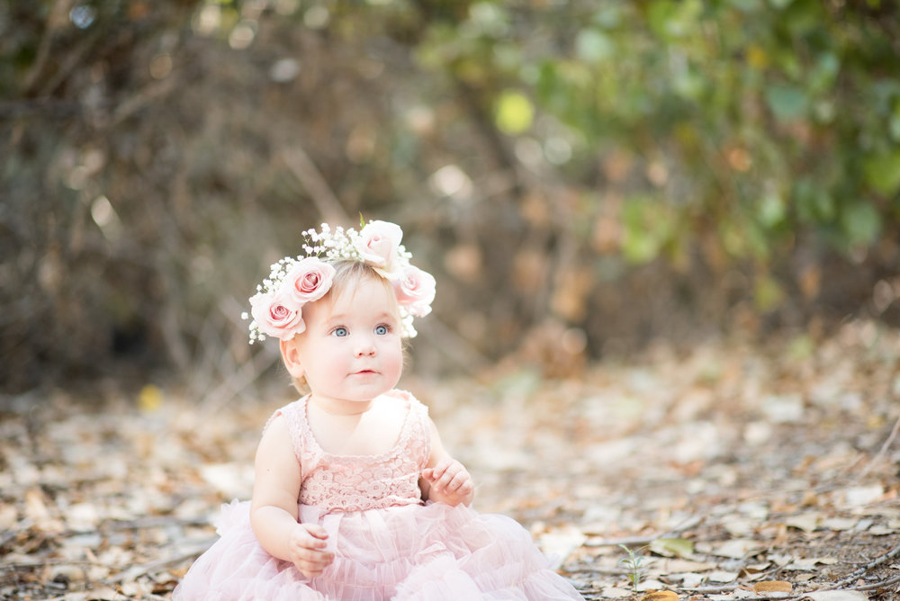 Baby Girl's First Birthday Outfit