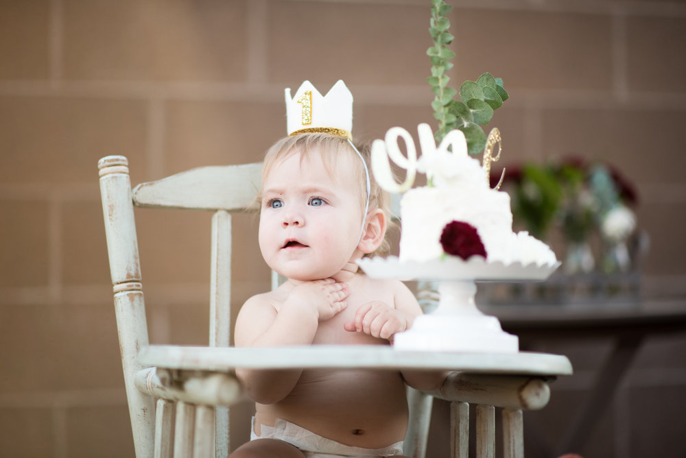 Baby Girl's First Birthday Ideas