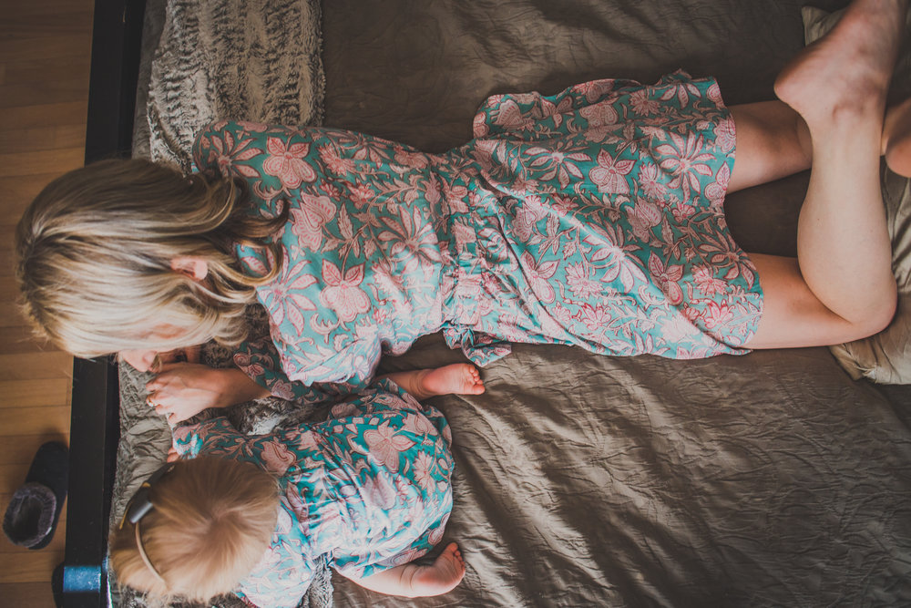 Matching Mommy + Baby Robes - PajamaSutra - Briana Lindsey Photography