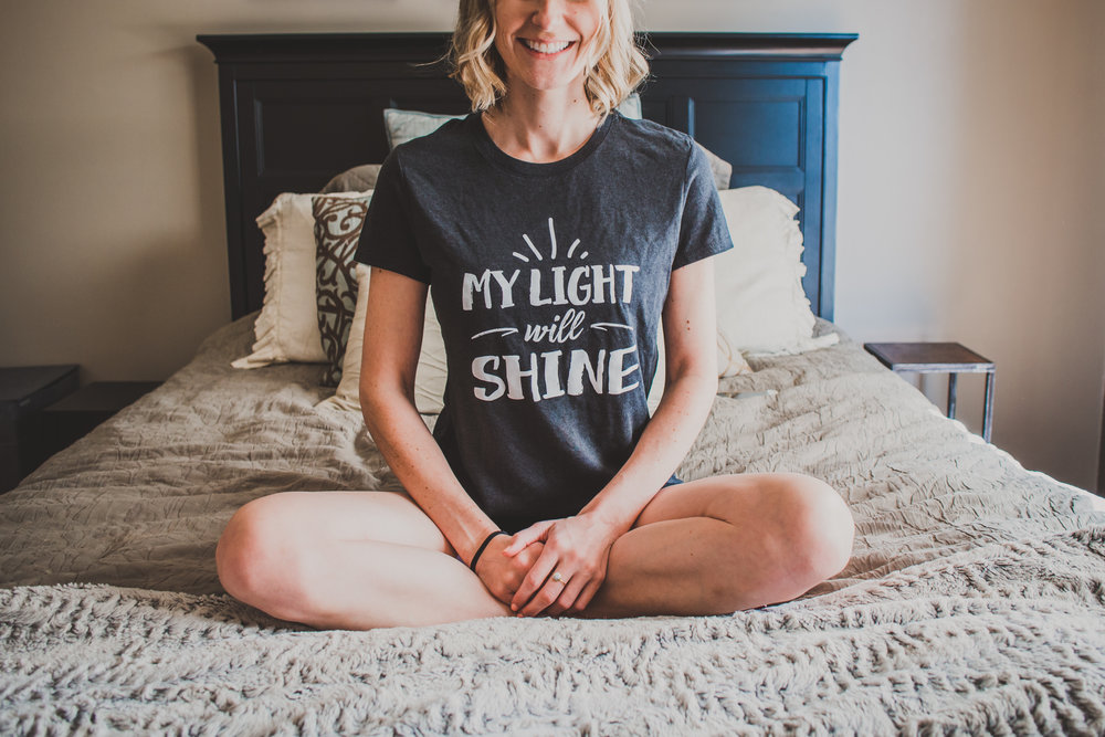 My Light Will Shine - Mom T-Shirts from The Blissful Trenders - Briana Lindsey Photography