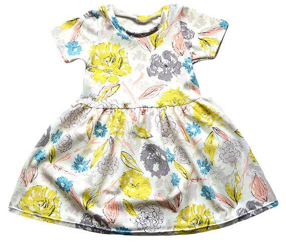 Floral Spring Baby Dresses