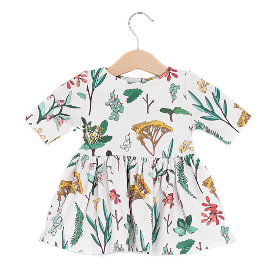 Spring Floral Baby Dress