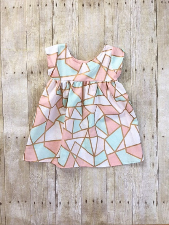 Pastel Spring Tribal Dress