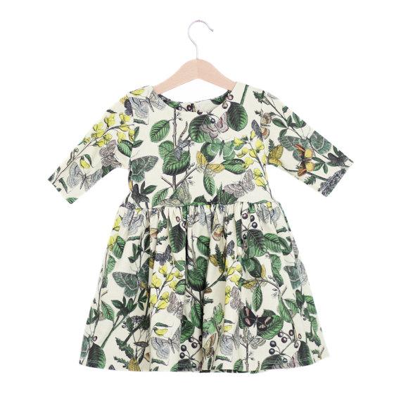 Butterfly Garden Organic Spring Baby Dress