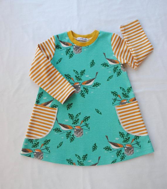 Birch Organic Spring Baby Dress