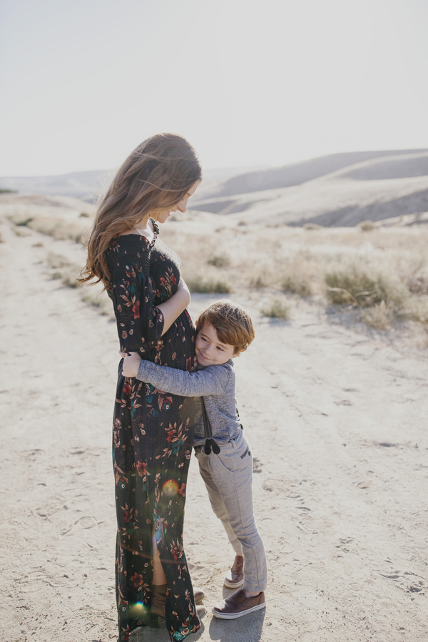 Earthy Hillside Family Photos - Megan McAllister Wedding Photography