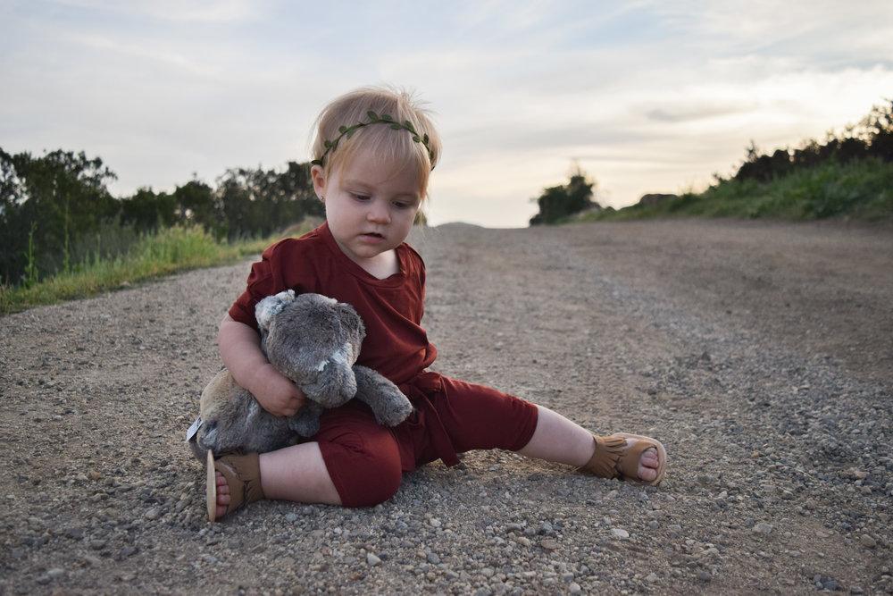 BABY FASHION | Burnt Orange Baby Romper - Nomad Shoppe