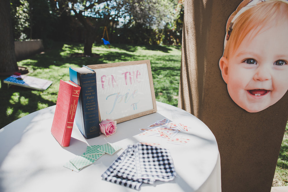 Pin the Pie on Ava - A Vintage Chic Pi Day Themed 1st Birthday Party