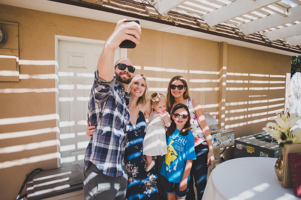 Custom Snapchat Fliter - First Birthday Party Ideas - A Vintage Chic Pi Day Themed 1st Birthday Party | Ava's First Birthday