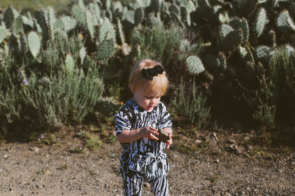 Black and White Baby Romper - Kids Romper - Nomad Shoppe - Briana Lindsey Photography