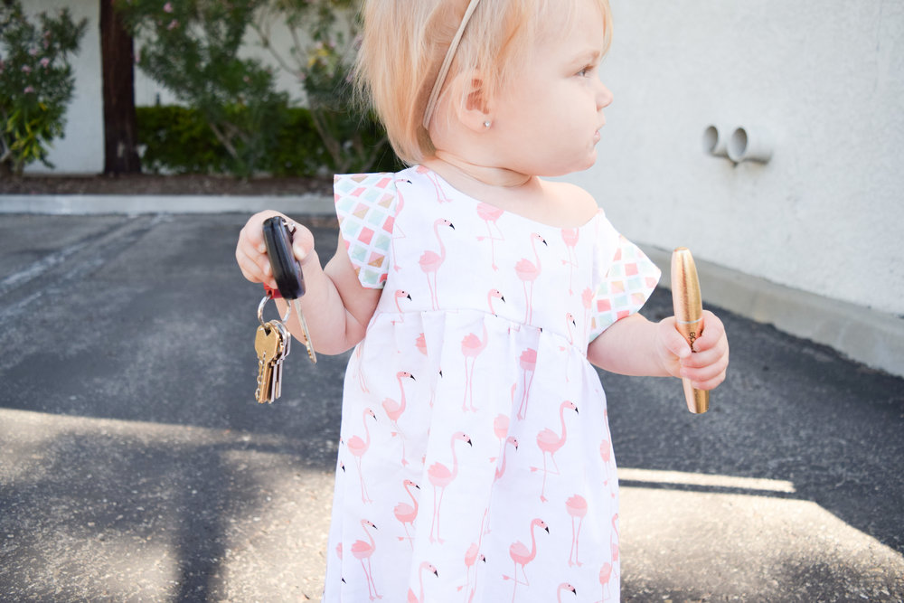Kids Flamingo Dress - Dressing Bree - Kids Ju-Ju-Be Palm Tree Purse