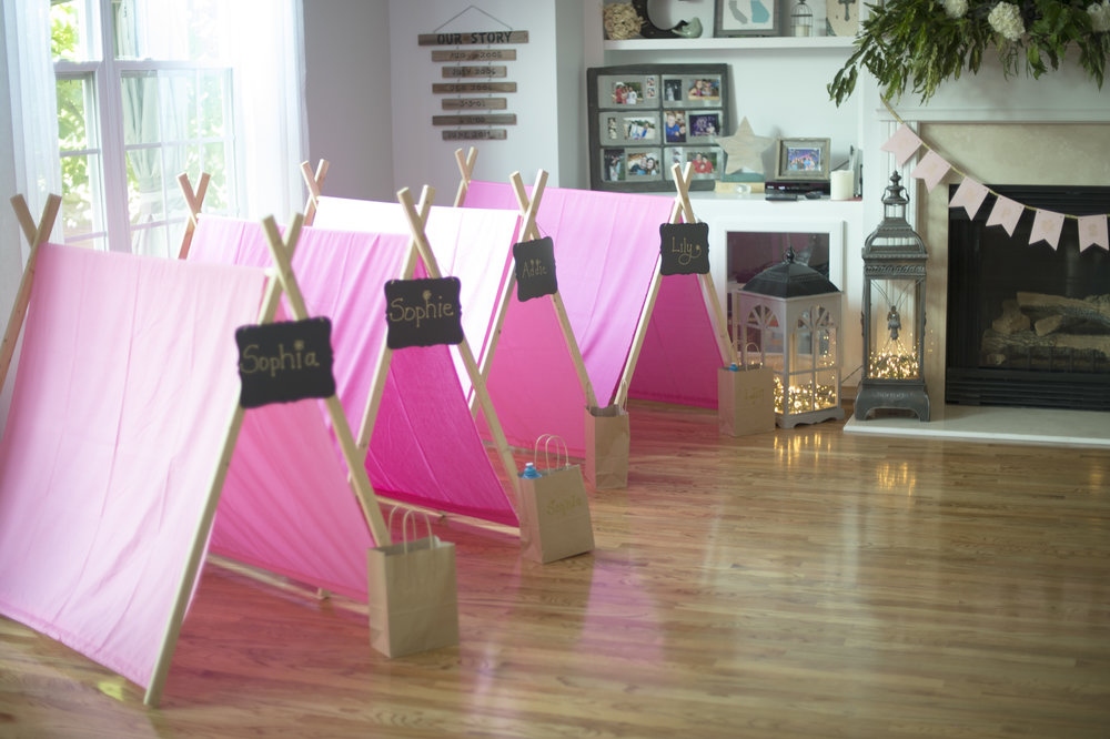 DIY Glamping Kids Birthday Party - 8th Birthday Party Ideas - Everything Lovely Photography