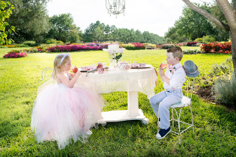 Kids Styled Tea Party - Kierstyn Peterson Photography