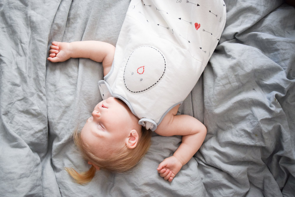 Zen Sack by The Nested Bean - tricks for getting babies to sleep in their own crib