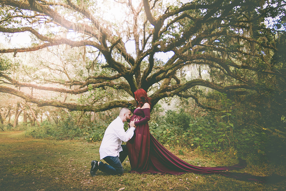 Fairytale Maternity Photos - Ricky Serrano Photography LLC