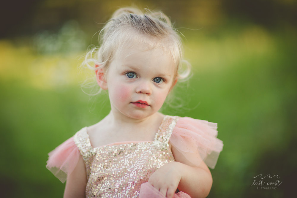 A Daddy-Daughter Photo Session - Lost Coast Photography