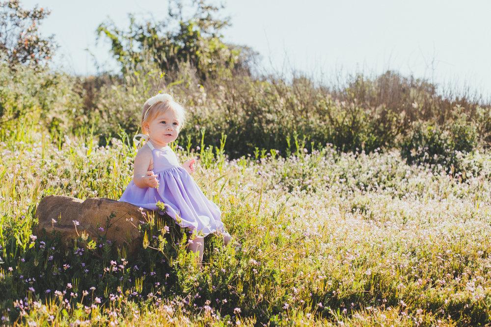 Kids Fashion | Lilac Purple Halter Dress - Teeny Tiny Threads