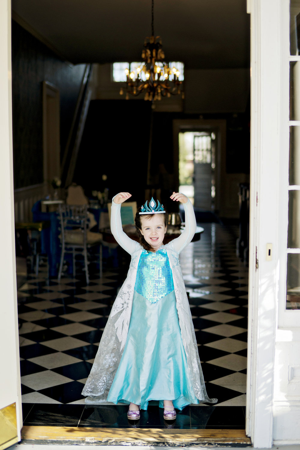 Zoe's Frozen Themed 6th Birthday Party - Studio 83 Wedding Photography