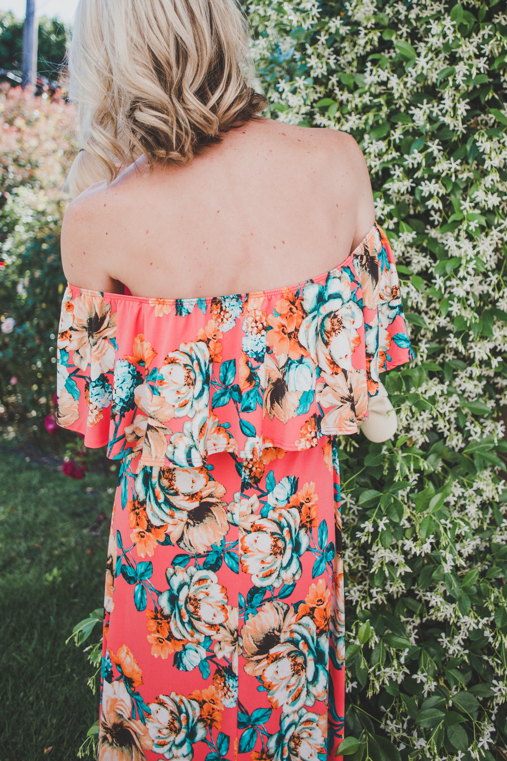 Affordable Summer Mom Fashion - PinkBlush - Shop Floral Print Maxi Dresses