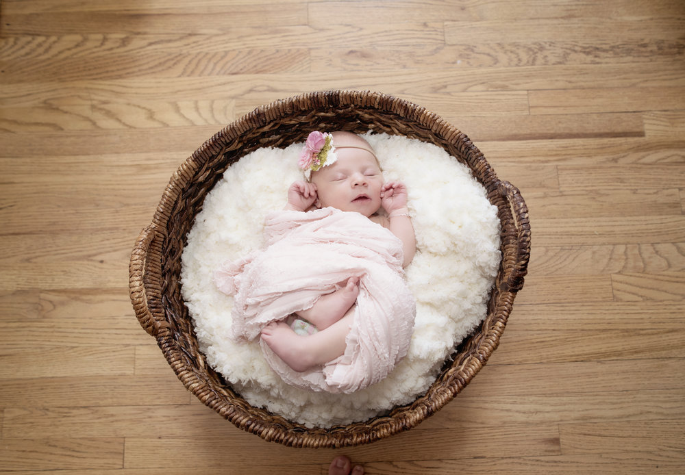 Sweet Baby Girl Newborn Photos - Capture Couture