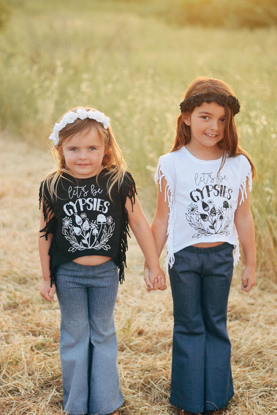 Kids Summer Fringe Tees