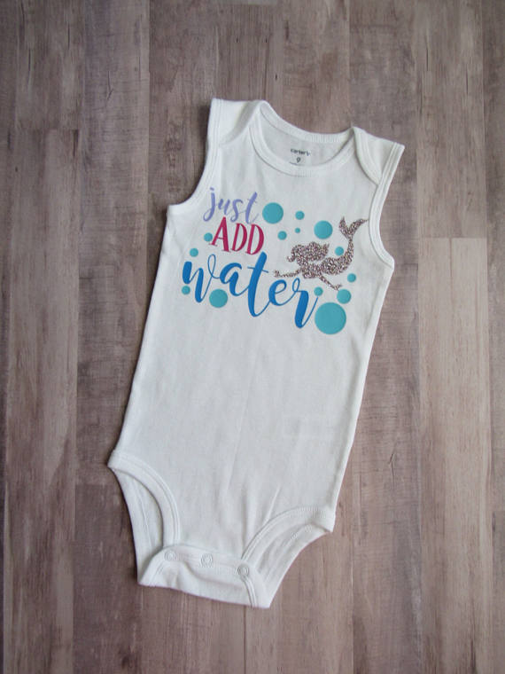 Kids Summer Mermaid Onesie