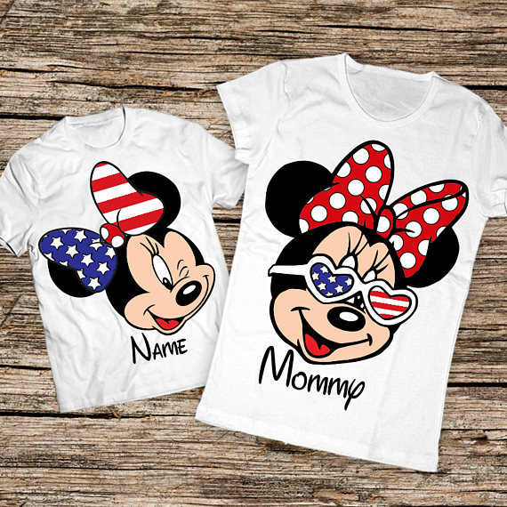 Matching 4th of July Mommy + Me Shirts