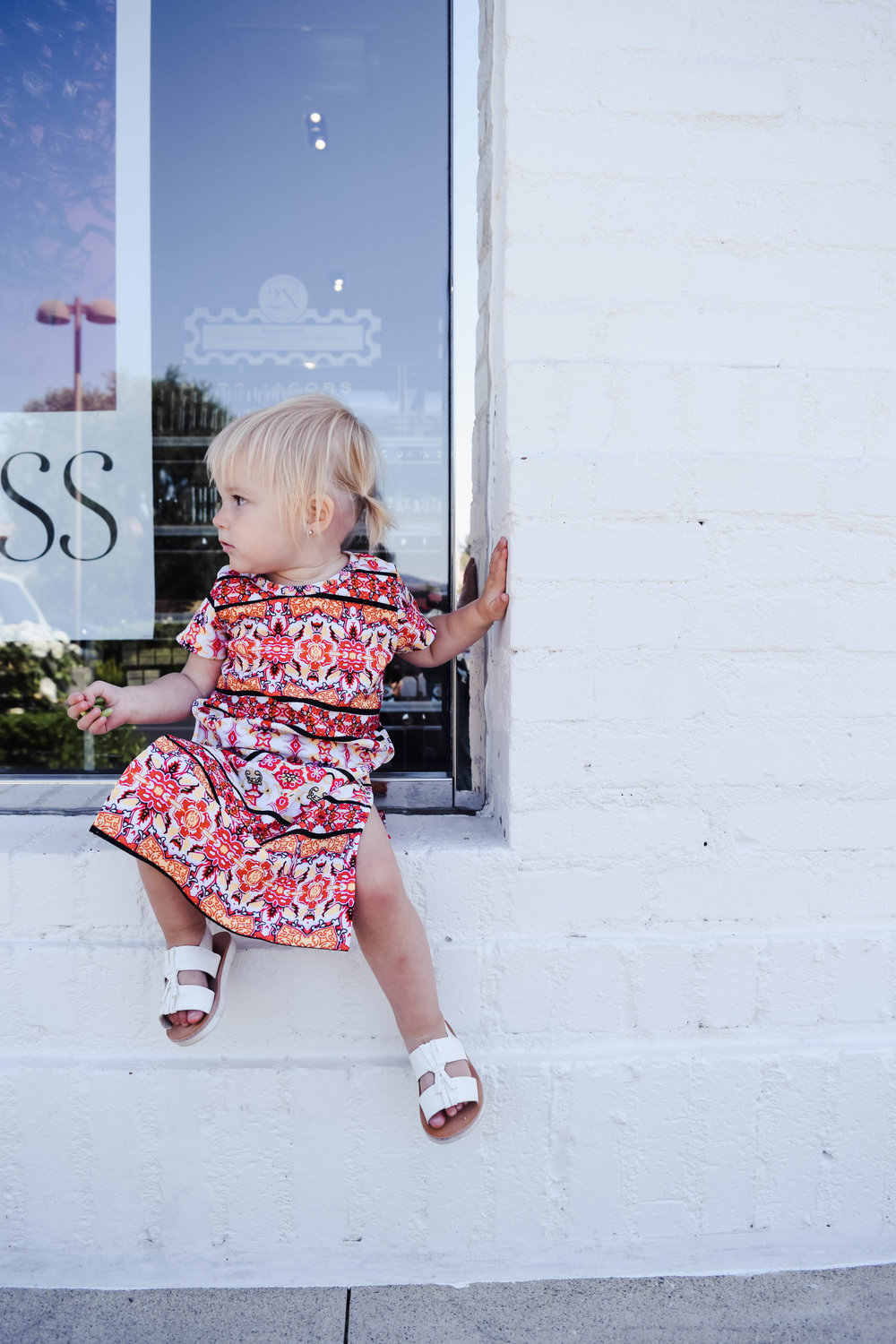 KIDS FASHION | Aztec Baby Maxi Dress - Modesty Handmade