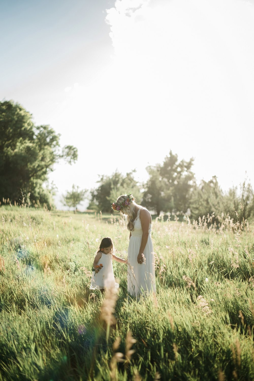 Sun Soaked Mother + Daughter Photos | Highlands Ranch, Colorado - Stephanie Ramsey Photography