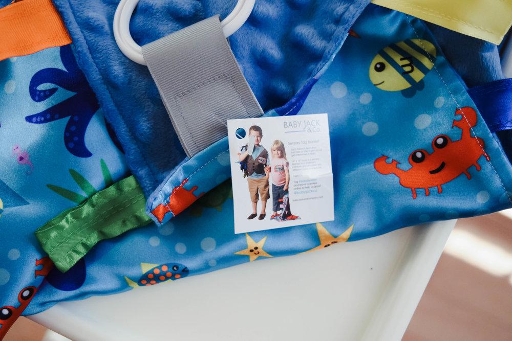 Tag Lovey Blankets - Baby Jack & Company