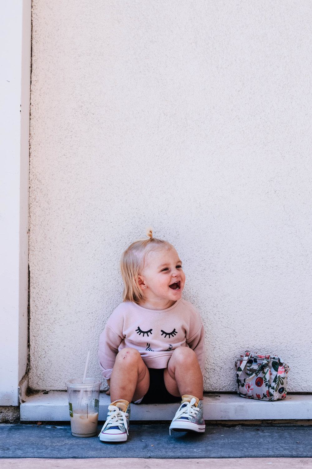 I want to be just like you, Miss Ava Sue -- Mommy Blog -- The Overwhelmed Mommy