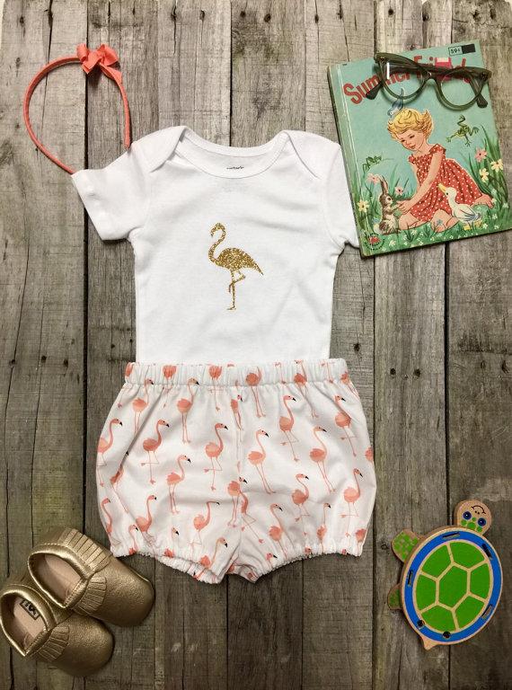 Flamingo Onesies