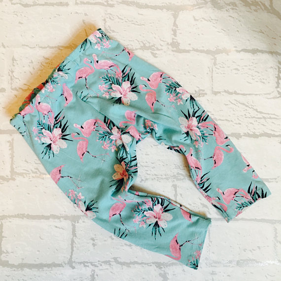 Baby-Kids Flamingo Leggings