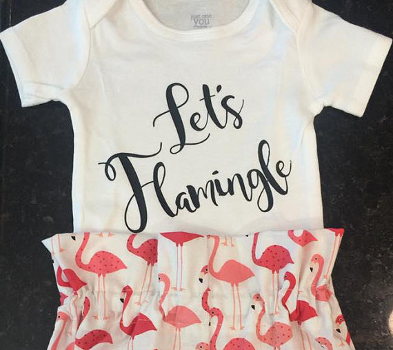 Flamingo Onesie - Lets Flamingle