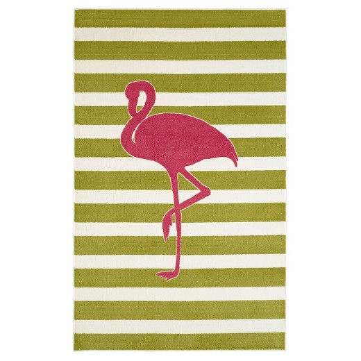 Flamingo Kids Room Rug