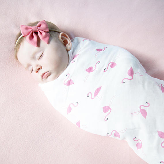 Flamingo Swaddle
