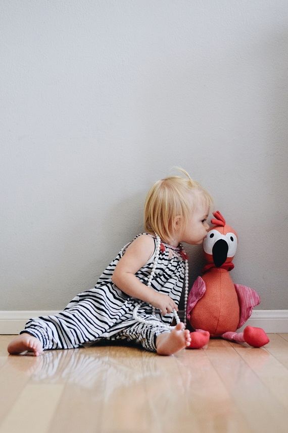 Flamingo Stuffed Animal - Flamingo Kids Pillow