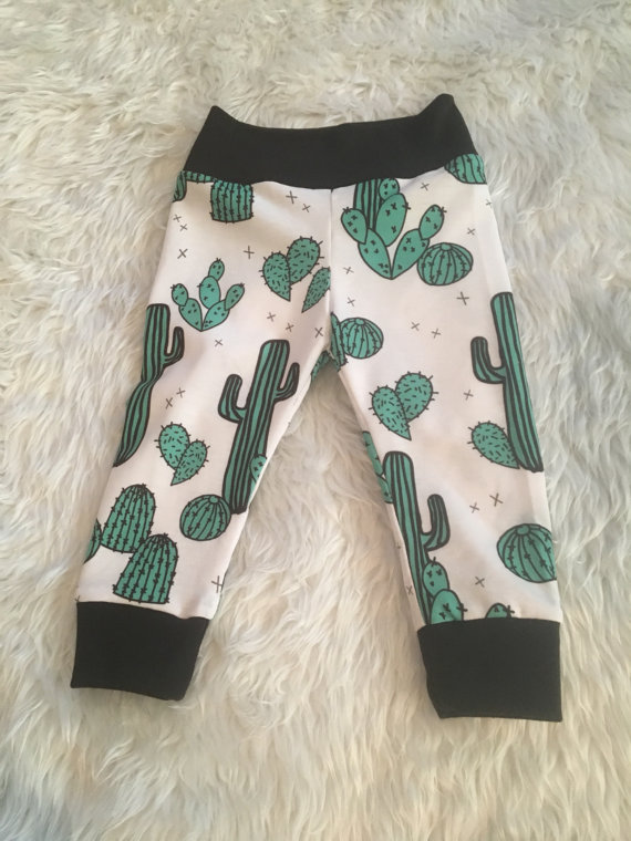 Kids Cactus Leggings