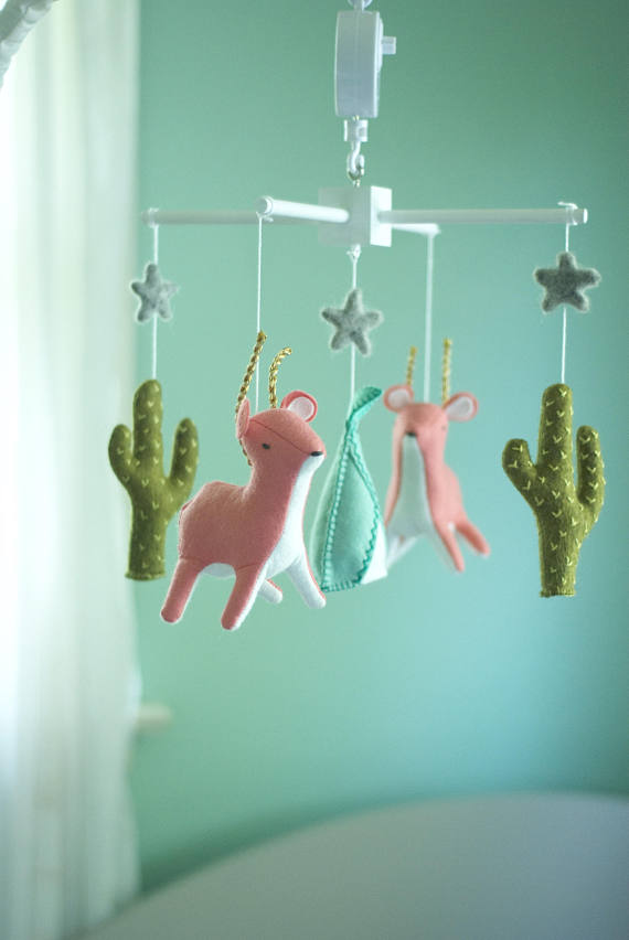 Cactus Kids Products - Cactus Baby Mobile