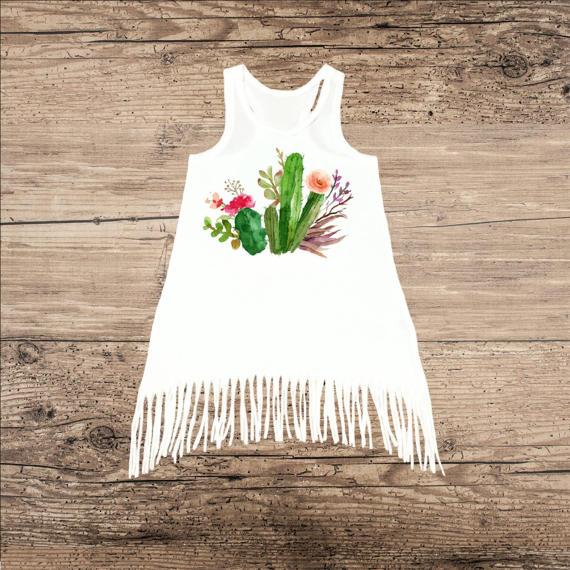 Cactus Kids Products - Kids Cactus Dress