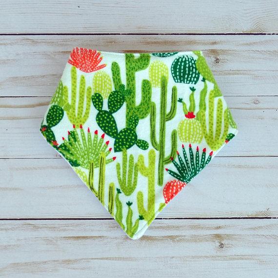 Baby Cactus Bib