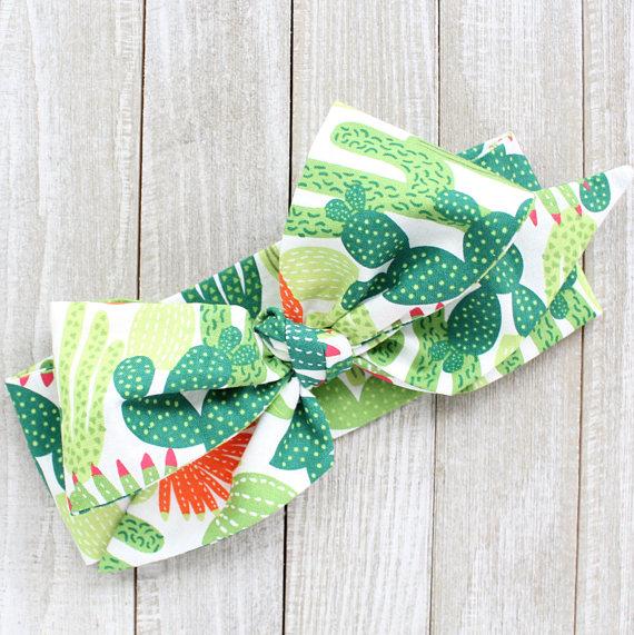 Cactus Baby Headwrap