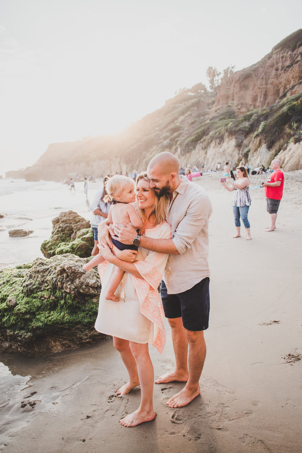 Affordable Family Summer Beach Fashion - Marks & Spencer - Family Beach Photos - Briana Lindsey Photography