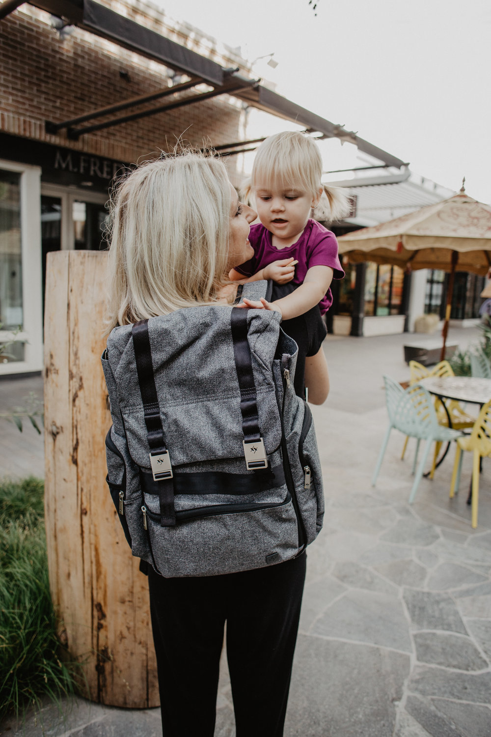 Ju-Ju-Be XY Collection Hatch Gray Matter - Trendy Diaper Bags for Dads