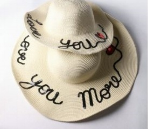 Mommy and Me Floppy Straw Hat - Little Jadore