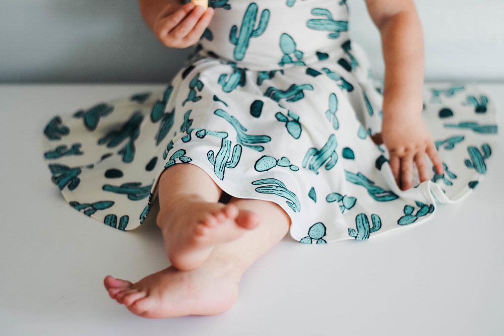 Kid's Cactus Dress - DotDotSmile